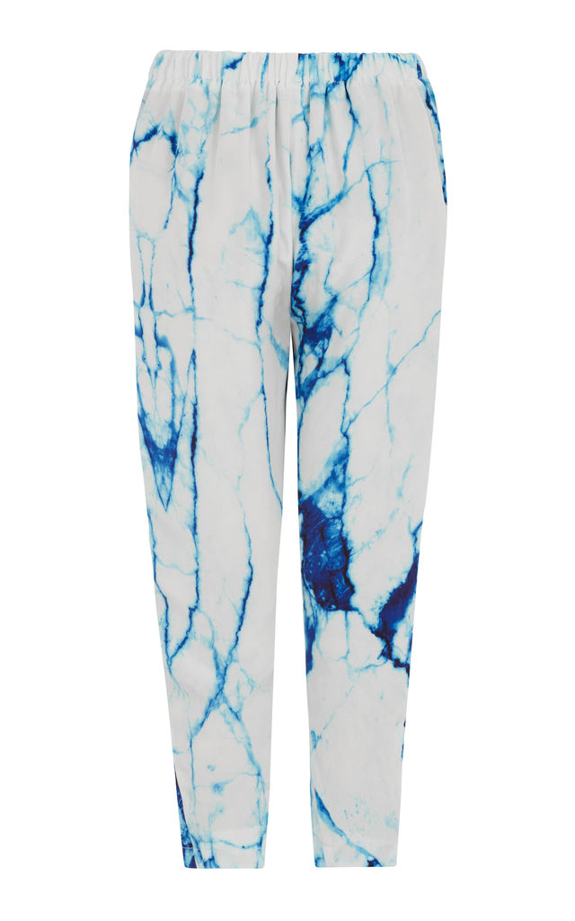 Arctic Marble | Relaxed Pants by Lulu Hayes