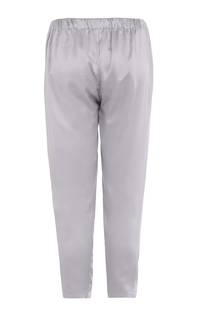 Silver Grey | Relaxed Pants by Lulu Hayes