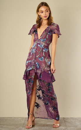Violet Orchid Cleo Floral Maxi Dress by For Love And Lemons Product photo