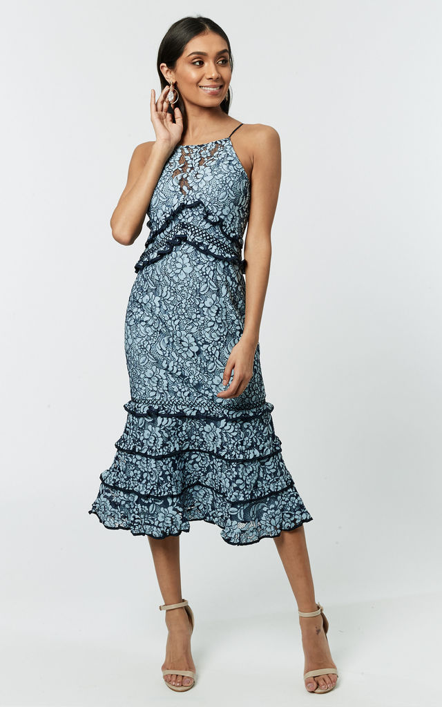 de5ebe60bdc6 Catch Me Lace Midi Dress | KeepSake | SilkFred