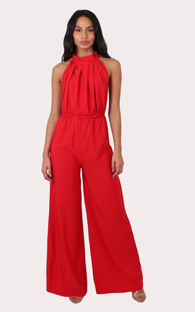 TALL Maya Red Jumpsuit by Silver Birch