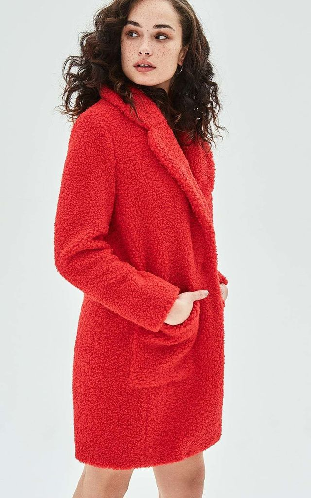 TULIP Statement Shearling Coat by ELVI