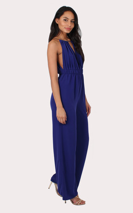 TALL Alisha Purple Jumpsuit by Silver Birch