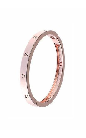 Rose Gold stud bangle by Nautical and Nice Ltd