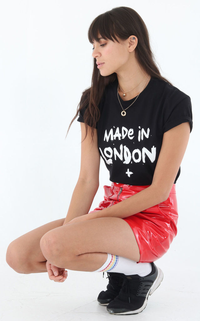 Made in London black top by 100 Hail Marys