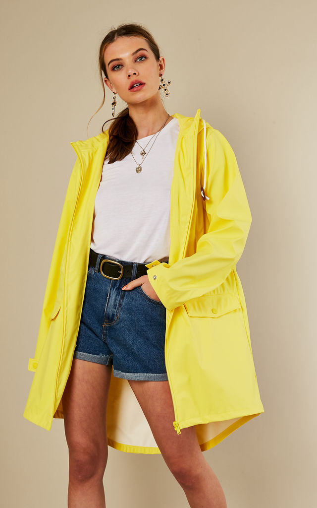 Lemon Zest Long Jacket by VILA