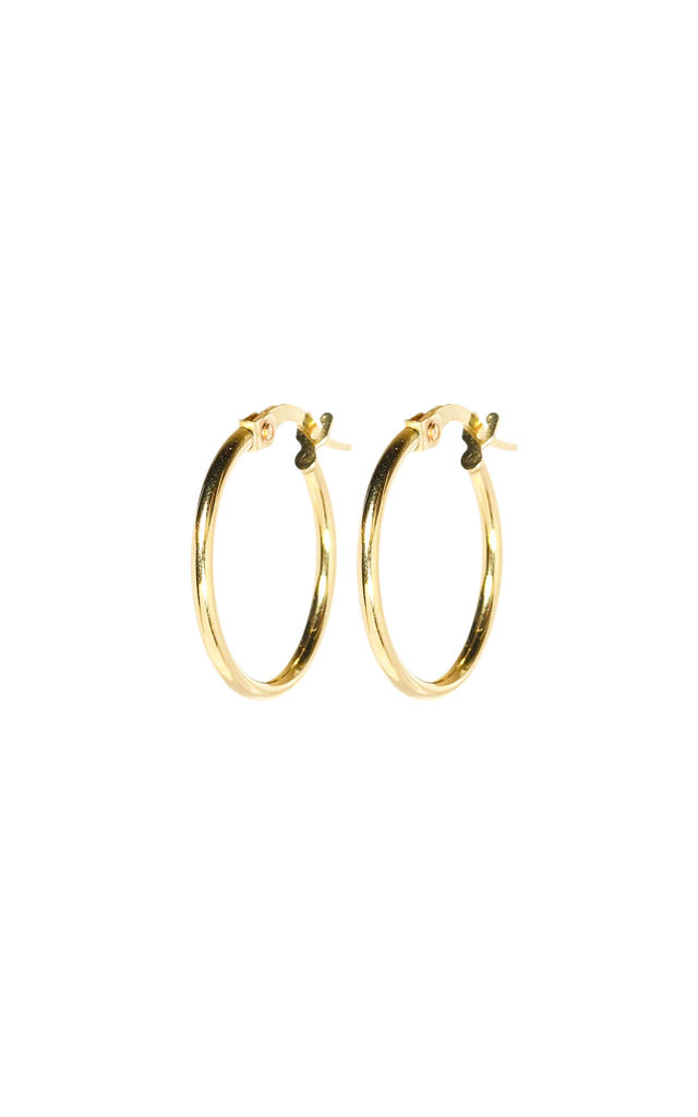 Everyday Small Gold Hoops by XISSJEWELLERY