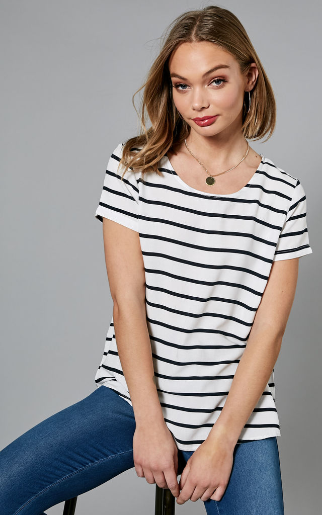 Cloud With Night Sky Stripe Top by ONLY