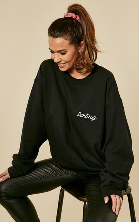 Black Darling Oversized Sweat by Love Product photo