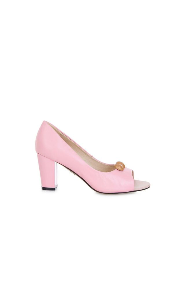 Westbourne Guava Heeled Sandals by Yull Shoes