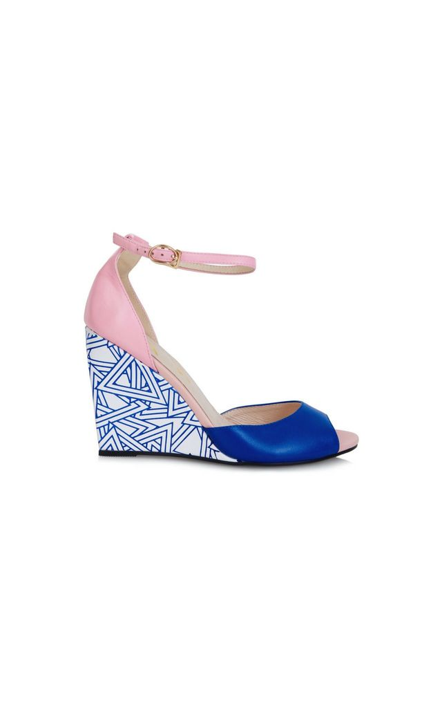Fife Guava Wedges by Yull Shoes