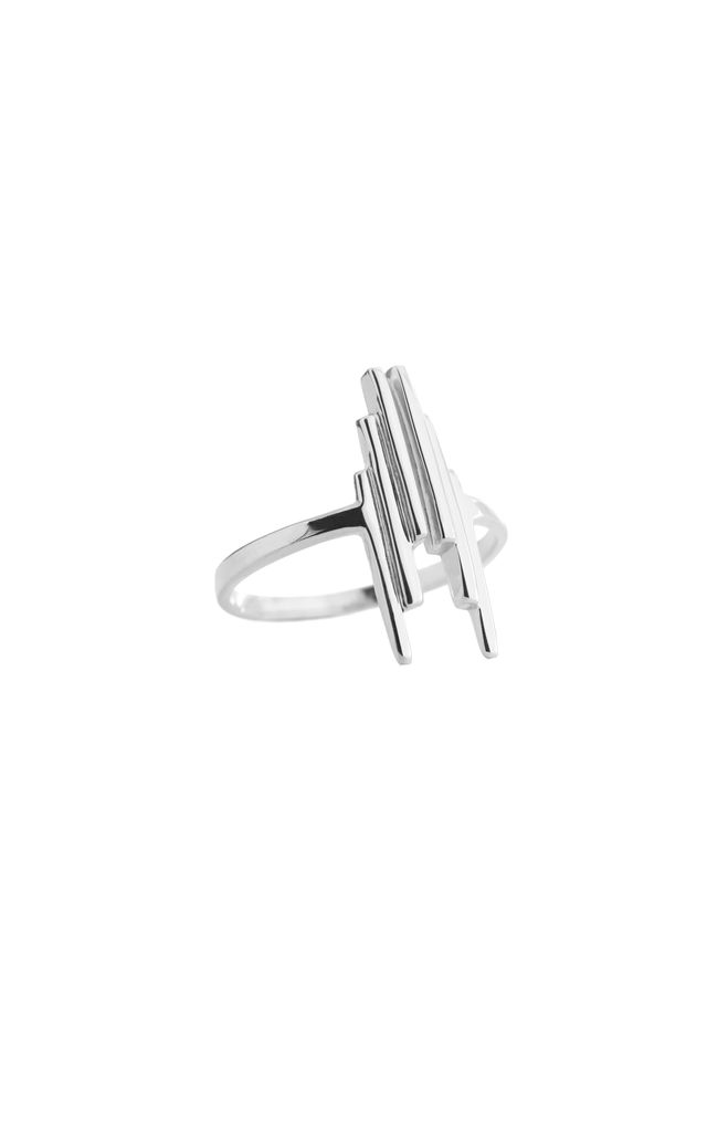 Stack ring silver by House Thirteen