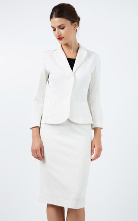 Fitted Long Sleeve Jacket by Conquista Fashion