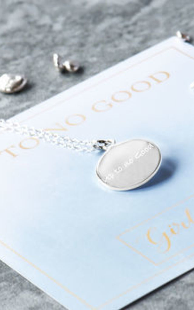 Up To No Good Sterling Silver Necklace by Grace and Valour