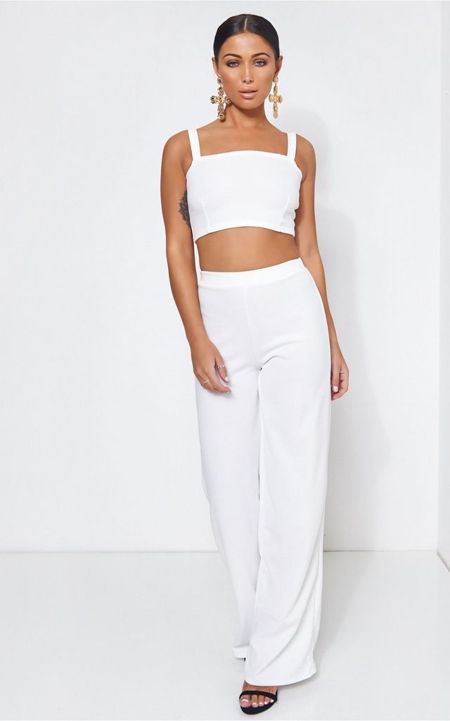 Jesson White Co-Ord by The Fashion Bible