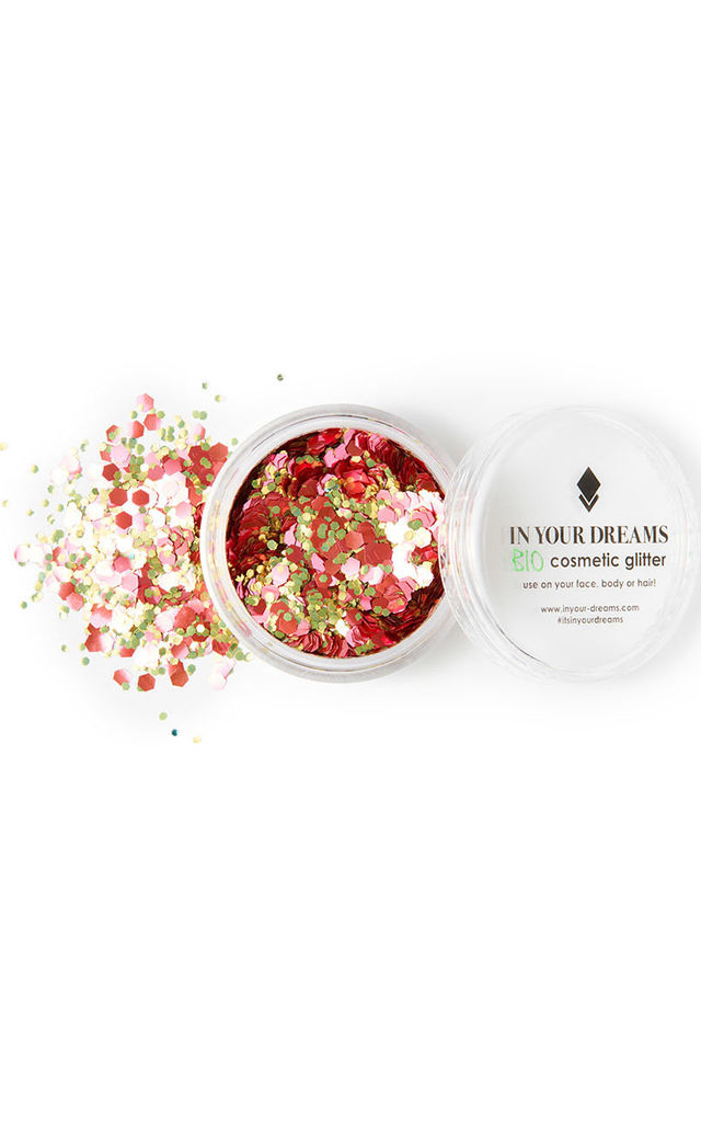 ROSE GOLD RUSH BIODEGRADABLE GLITTER by IN YOUR DREAMS