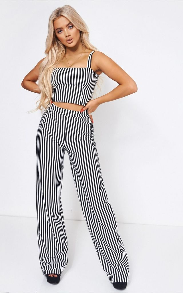 Jardi Black & White Stripe Co-Ord by The Fashion Bible