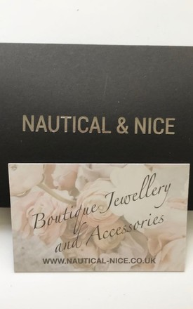 Silver and leather knot necklace by Nautical and Nice Ltd