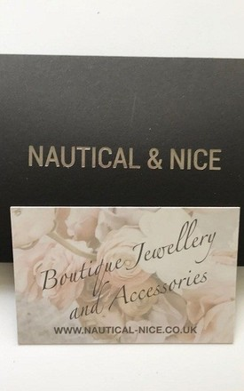 Rose Gold taupe bangle by Nautical and Nice Ltd