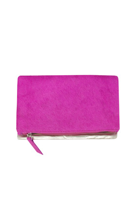 PINK SMALL CLUTCH BAG by Luna Love London