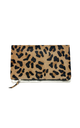 LEOPARD SMALL CLUTCH BAG by Luna Love London
