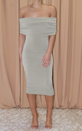 Halle Drop Shoulder Midi Dress by Dressed By Lauren