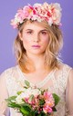 Maurelle Peony and Daisy Crown - Sorbet by Crown and Glory