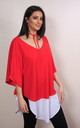Long Island Red Top by Pink Flame UK