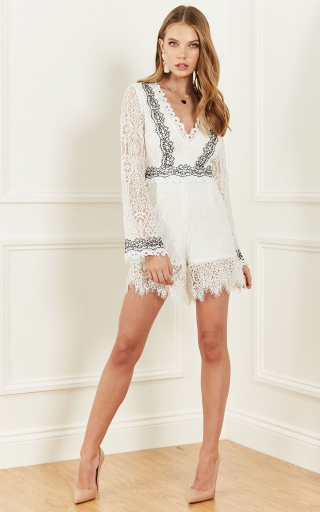 FRANCES PLAYSUIT by Foxie Dox