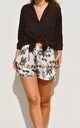 Rebecca Floral Shorts by Ararose Clothing