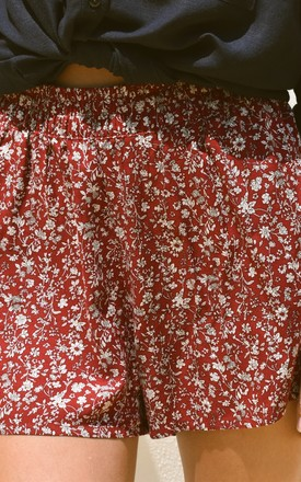 Laura Floral Shorts by Ararose Clothing