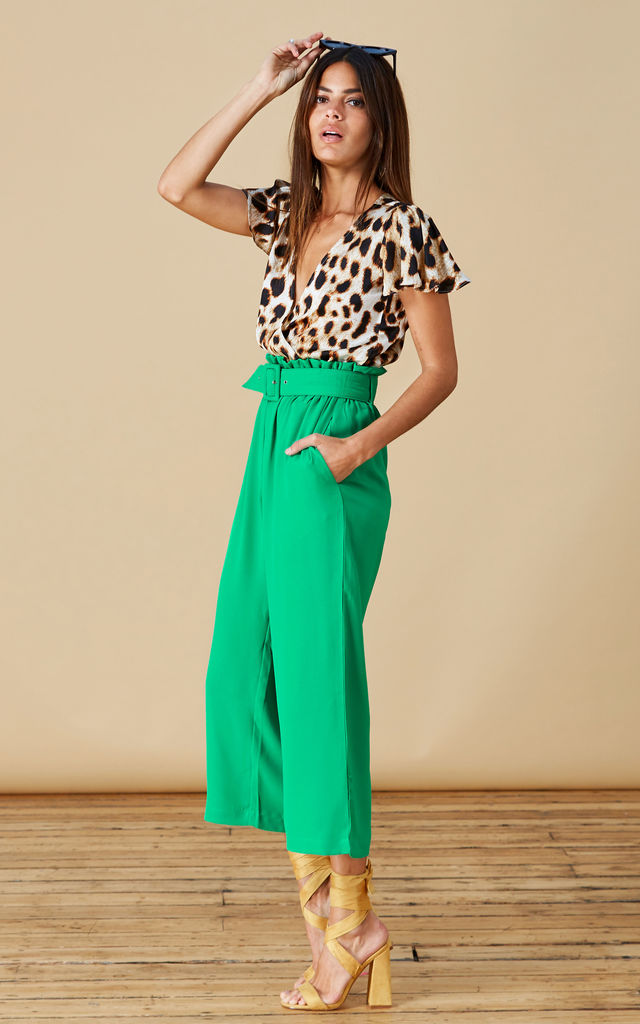 Bronx Trousers in Summer Green image