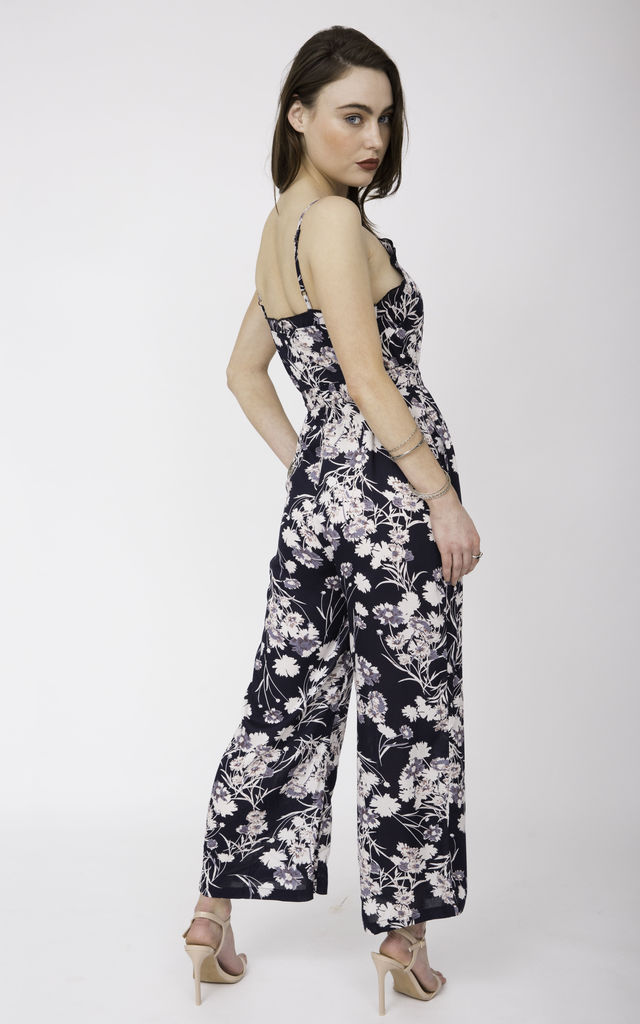 Floral Ruffle Summer Jumpsuit Evie by likemary