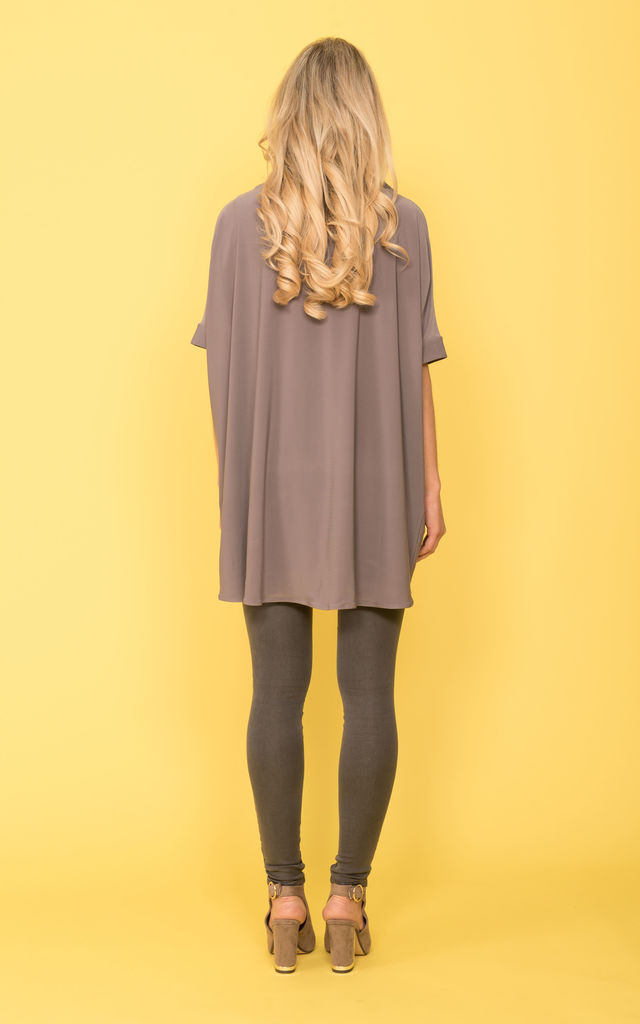 Polo Jumper Grey Taupe by DARE LABEL