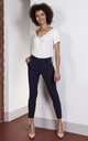 Navy high-waisted pants by Lanti