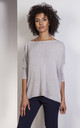 Gray oversize sweater by Lanti