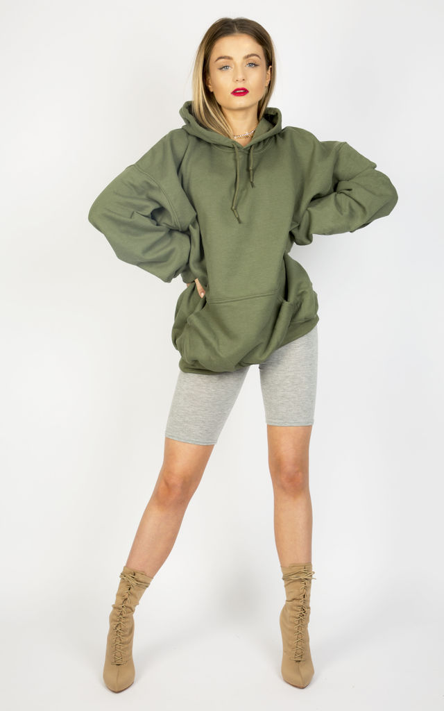 DESERT DREAMS OVERSIZED BOYFRIEND HOODIE- KHAKI by Cats got the Cream