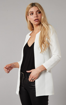 Cloud Textured Long Line Blazer by ONLY