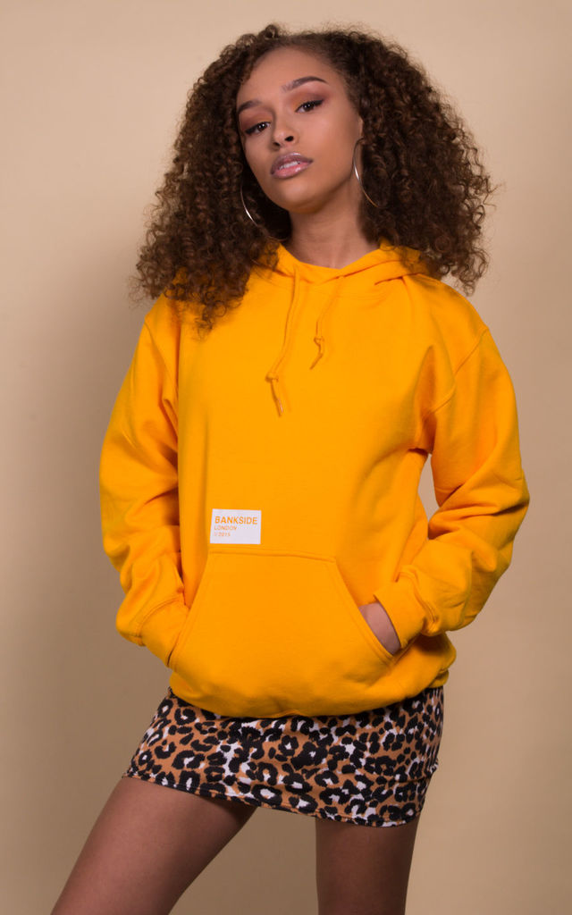 Yellow Tag Hoodie by Bankside