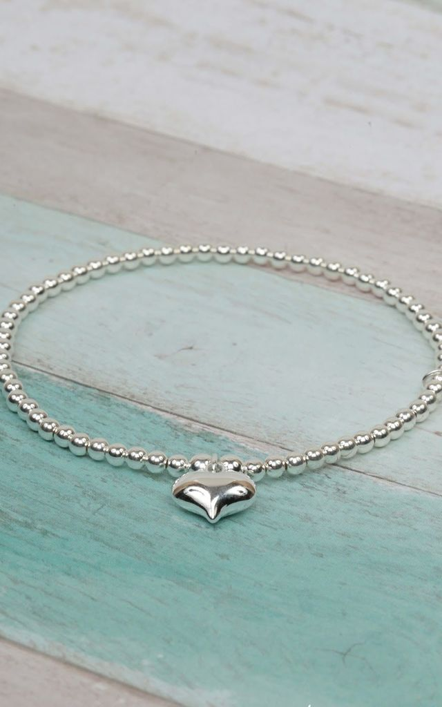 Stylish Sterling Silver Stacking Bracelet by Kelly England Handmade Jewellery