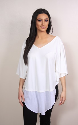 Long Island White Top by Pink Flame UK