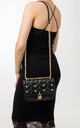 Aubrey Black Quilted Shoulder Bag by KoKo Couture