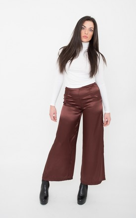 Hot Chocolate Wide Leg Trouser by ceekit Product photo