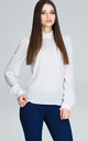Long Sleeve top in white by FIGL