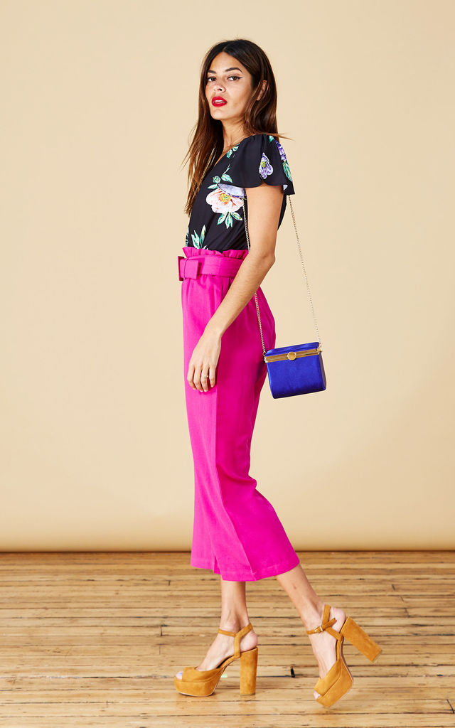 Bronx Trousers in Hot Pink image