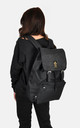 Ornate embossed panel laptop backpack by The Left Bank