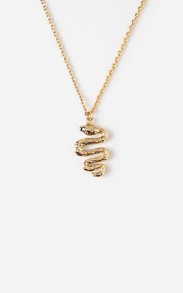 Snake Charm Necklace by Orelia London