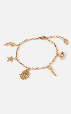 Spiritual Charm Bracelet by Orelia London