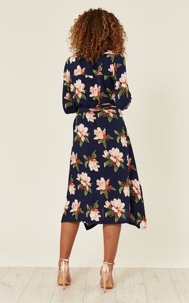 Summer Dress Floral Print Multi by Zibi London