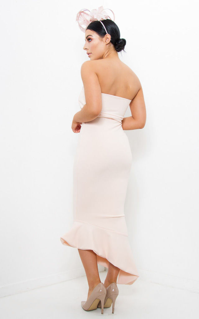 BOBBI- Asymmetric Bandeau Dress by Dressed By Lauren